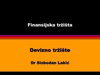 Finansijska tržišta