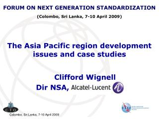 The Asia Pacific region development issues and case studies
