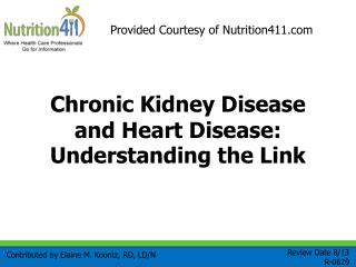 Chronic Kidney Disease and Heart Disease: Understanding the Link