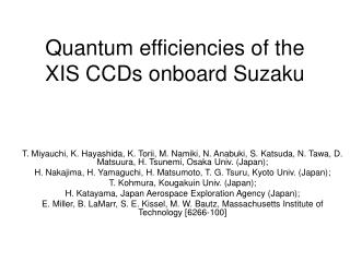 Quantum efficiencies of the XIS CCDs onboard Suzaku