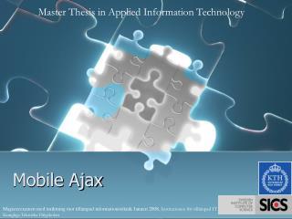 Mobile Ajax