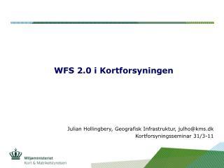 WFS 2.0 i Kortforsyningen