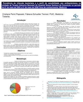 Cristiane Perini Popoaski, Fabiana Schuelter Trevisol, PUIC, Medicina - Tubarão.