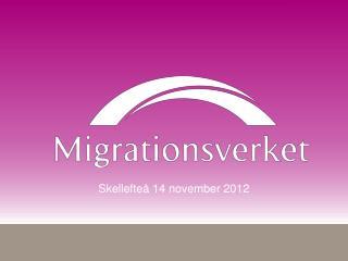 Skellefteå 14 november 2012