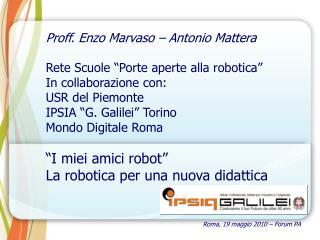 Roma, 19 maggio 2010 – Forum PA