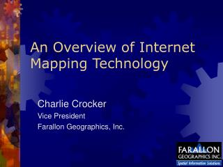 An Overview of Internet Mapping Technology