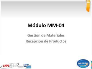 Módulo MM-04