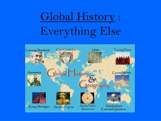 Global History  : Everything Else