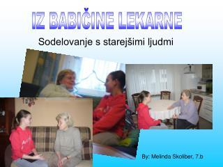 Sodelovanje s starejšimi ljudmi