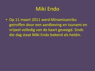 Miki Endo