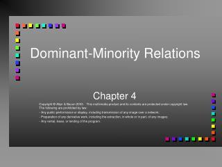 Dominant-Minority Relations