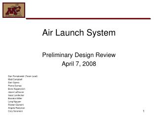 Air Launch System