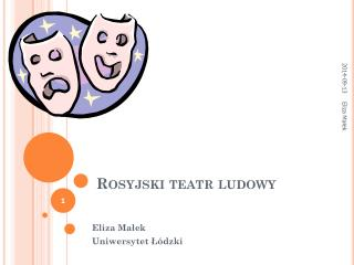 Rosyjski teatr ludowy