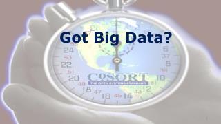 Got Big Data?