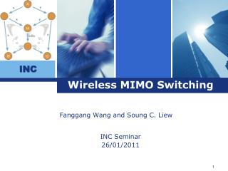 Wireless MIMO Switching