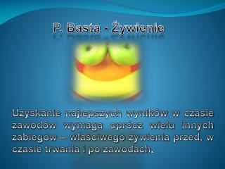 P. Basta - Żywienie