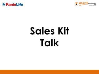 Sales Kit Talk