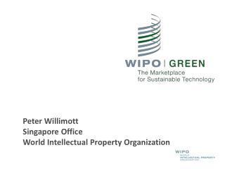 Peter Willimott Singapore Office World Intellectual Property Organization