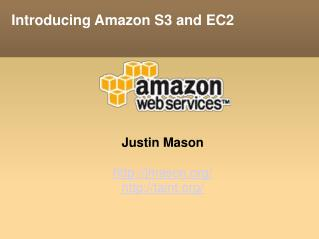Introducing Amazon S3 and EC2