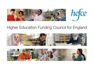 Hugh Tollyfield, MIoD Higher Education Funding Council for England