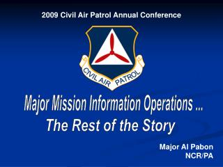 2009 Civil Air Patrol Annual Conference