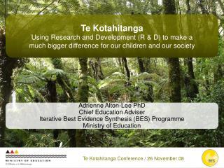 Te Kotahitanga Conference
