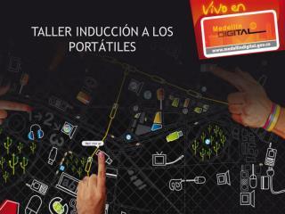 TALLER INDUCCIÓN A LOS PORTÁTILES
