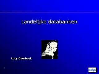 Landelijke databanken