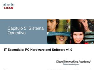 Capitulo 5: Sistema Operativo