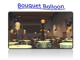Bouquet Balloon