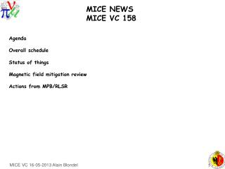 MICE NEWS    MICE VC 158