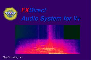 FXDirect Audio System for V