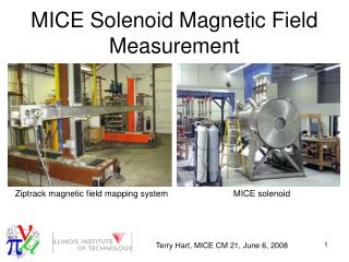 MICE Solenoid Magnetic Field Measurement