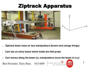 Ziptrack Apparatus