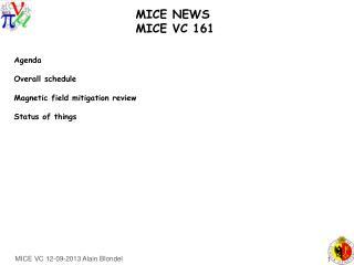 MICE NEWS    MICE VC 161