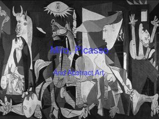 Miro, Picasso