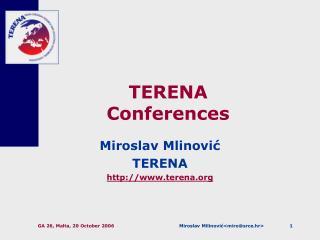 TERENA Conferences