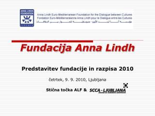 Fundacij a  Ann a  Lindh
