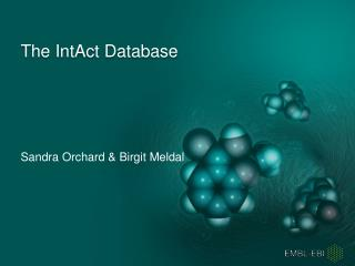 The  IntAct  Database