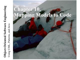 Chapter 10, Mapping Models to Code
