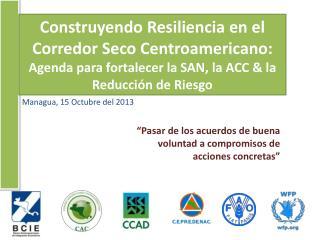 Managua, 15 Octubre  del 2013
