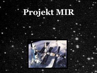 Projekt MIR