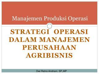 Manajemen Produksi Operasi