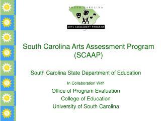 South Carolina Arts Assessment Program (SCAAP)