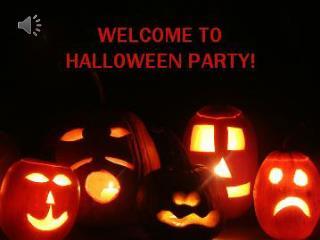 Halloween – what a strange name!