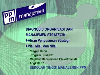 Ningky Munir Program Studi S2  Magister Manajemen Eksekutif Muda Angkatan 1