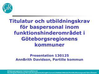 Göteborgsregionens kommuner