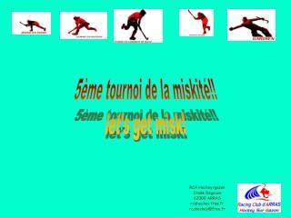RCA Hockey/gazon Stade Degouve 62000 ARRAS rcahockey.free.fr rcahockey@free.fr