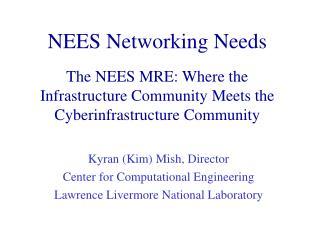 Kyran (Kim) Mish, Director Center for Computational Engineering