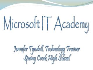 Microsoft IT Academy